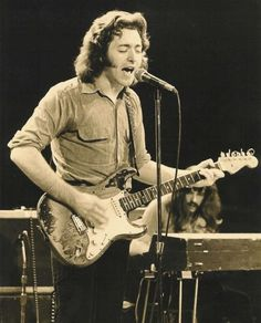 I've stolen a million guitar licks from Rory Gallagher!
