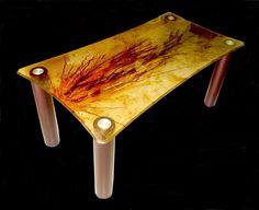 Δημιουργία μου σε βαμμένο γυαλί. Table, Furniture, Home Decor, Decoration Home, Room Decor, Tables, Home Furnishings, Home Interior Design, Desk