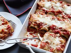 Portobello Lasagna Rollups : Whole-wheat noodles and part-skim ricotta and mozzarella are smart substitutions that won't affect the taste of this favorite dish: cheesy, bubbling lasagna, rolled up into individual portions.