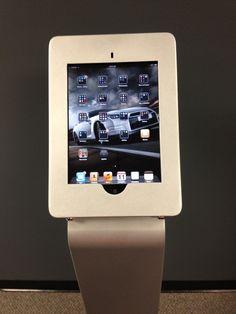 Modular iPad Kiosk in Black or Silver