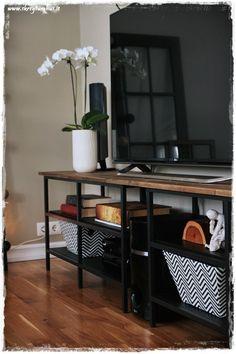 tv m bel kombination fj llbo schwarz in 2019 stundenden. Black Bedroom Furniture Sets. Home Design Ideas
