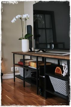 FJLLBO Mueble TV con almacenaje Negro 250 x 36 x 93 cm