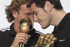 Diego Forlan & Iker Casillas