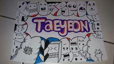 #TaeYeon #doodle