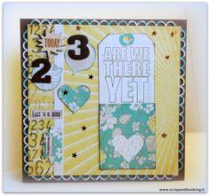 Anniversary card #card #scrapbooking #celebrate