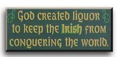 Irish liquor