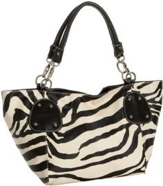 Black Large Vicky Zebra Print Faux Leather Satchel Bag Handbag Purse --- http://www.pinterest.com.itshot.me/zn
