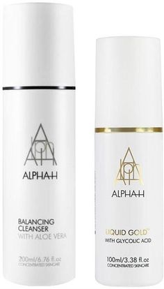 The Perfect Partners Duo from Award Winning skincare brand Alpha-H contains the Balancing Cleanser, a gentle and creamy formula which removes all traces of make-up including eye make up, while balancing the skin.