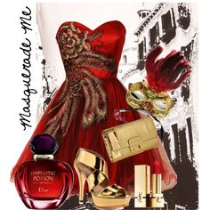 Masquerade Me, created by de1113 on Polyvore