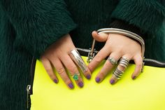The Best Accessories Of NYFW #refinery29  http://www.refinery29.com/fashion-week-accessories#slide2