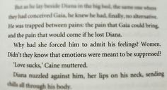 "Caine & Diana. Michael Grant. Gone series. ""Light"". Love sucks. Emotions."