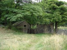 A picture of Tockholes The Mystical Well House, Tockholes, Lancashire. The only surviving building at Hollinshead Hall. Legend has it six ghostly figures frequent this building.