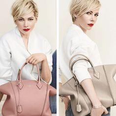 Michelle Williams per la campagna Louis Vuitton Lockit