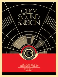Obey Sound and Vision ✓by Shepard Fairey ☠☠☠™