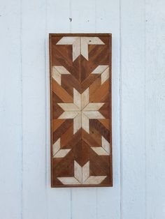 Recuperado arte de pared de madera decoración arte de