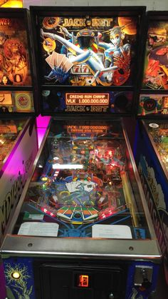 This was in pristine condition at Dutch Pinball Museum