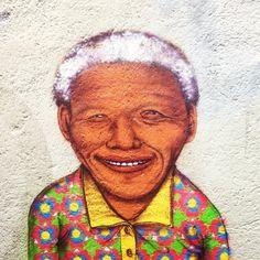 os gêmeos Mandela