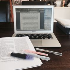 """afternote: """" trying to finish my essay on crime fiction before memorising for final exams. changed location to dining table as I can only work on areas which have absolutely nothing on it haha """" College Notes, School Notes, Law School, Study Space, Study Desk, Study Hard, Hard Work, Study Pictures, Study Organization"""