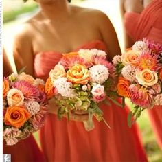 Bridesmaid dresses......love the color