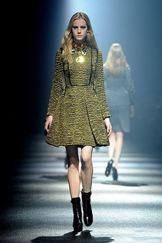 Lanvin: Lanvin: Runway - Paris Fashion Week Womenswear Fall/Winter 2012