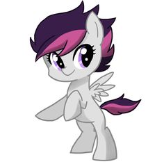 Echo, daughter of Scootaloo and Rumble!