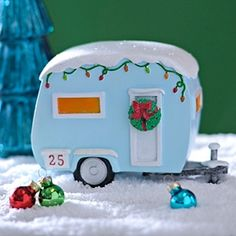 7 Best Camper Christmas Village Images