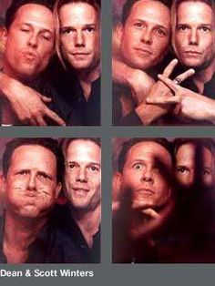 """Dean & Scott Winters-brothers, both in real life and on the HBO prison drama """"Oz"""" SO good!"""