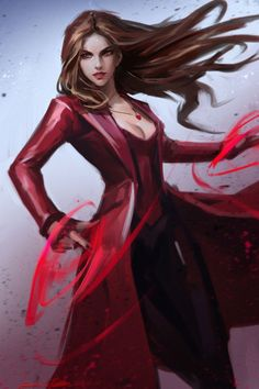 Scarletwitch by gothicq comic babes scarlet witch marvel, sc Marvel Women, Marvel Girls, Comics Girls, Marvel Females, Scarlet Witch Marvel, Marvel Comics, Marvel Heroes, Wolverine Avengers, Wanda Marvel