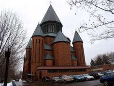 St. John the Evangelist Church, our church in my hometown, Schenectady, NY