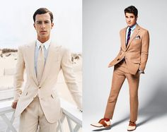 LOVE these looks for grooms! after all, they should look as good as their brides...right??! NO sloppy tuxes allowed!