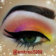 (Smoldering orange w/ gold sparkle) Dramatic and vibrant, this stunning shade has undertones of gold and can be worn alone or as a bright accent in the inside corner of eyes. 100% Vegan and Cruelty-Fr