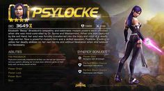 Entering Marvel Contest of Champions: Psylocke