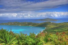 St. Thomas USVI - the most beautiful sights to see from above. What a beautiful place. Would love to go back. Great beaches
