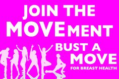 Will you join our new #MOVEment and Bust a Move with the BC Cancer Foundation on April 13, 2013?  Visit www.bustamove.ca to register and read more info!