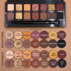 ABH Soft Glam palette dupes cred:@futilitiesmore