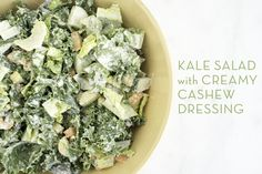 This salad dressing is creamy and tastes similar to a Caesar dressing, only better! Believe me, you won't miss the store-bought stuff one bitty.