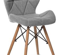 Krzesło ETRE II jasny szary - Krzesła kuchenne - zdjęcia, pomysły, inspiracje - homebook