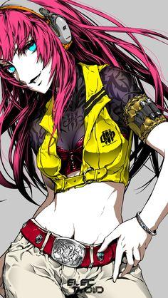 Vocaloid Megurine Luka  by nagimiso