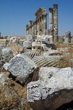 Apamea, Siria.