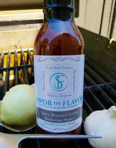 Spicy Roasted Garlic BBQ Sauce