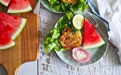 Summer Days: Maryland Style Crab Cakes & Jalapeno Mayonnaise
