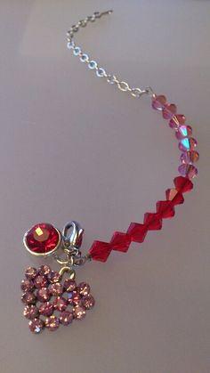 Lusciously lovely bracelet with Swarovski Elements