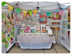 Love the bunting criss cross TOAE 2011 by luckyjackson::, via Flickr