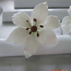 Gumpaste Lily