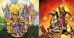Origin of Diwali - Celebration for Crowning of Vikramaditiya