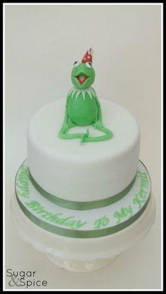 Kermit cake    :D