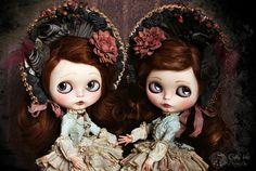 Sauco & Endrina  ♥ Elder & Sloe ♥    ♥♦♣♠Like my Alices♥♦♣♠    OOAK Blythe dolls custom by Rebeca Cano ~ Cookie dolls
