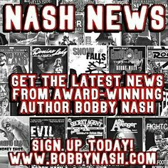 Over the weekend I sent out the June/July 2016 Nash News email newsletter to subscribers. You mean you aren't a subscriber? Well, that's easy enough to fix. Simply email bobby@bobbynash.com and I'll add you to the list. It's that simple. No, really. Trust me.  www.bobbynash.com
