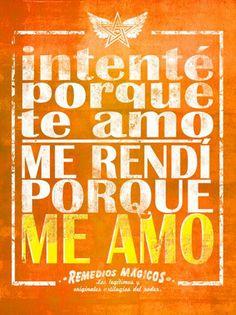 ...yo soy mi gran amor! Nadie me ama como yo!! Dios y yo....♥
