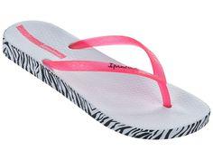 Designer Clothes, Shoes & Bags for Women Aqua Shoes, Pink Sandals, White Sandals, White Shoes, Shoes Sandals, Heels, Ipanema Flip Flops, White Flip Flops, Slippers